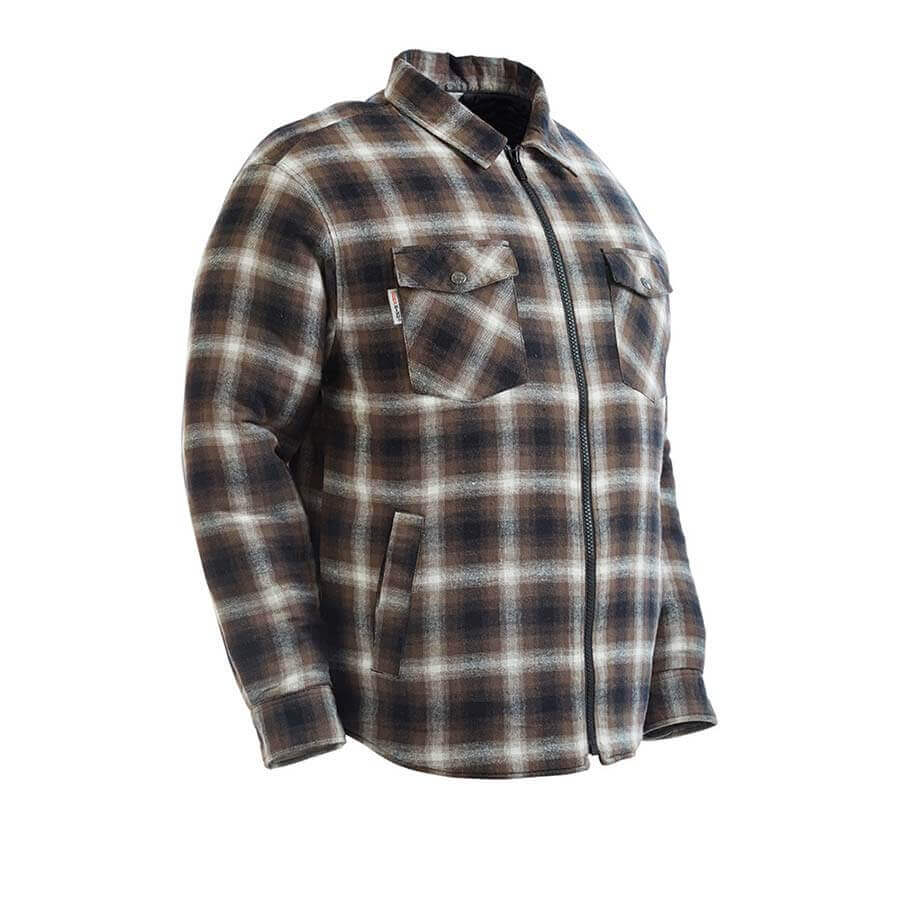ff78673f6 Zip Front Quilt Lined Flannel Jacket - Direct Workwear