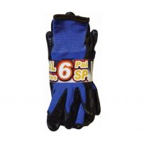 nitrile dipped palm glove black and blue