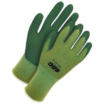 Seamless Knit Green Bamboo Green Crinkle Latex Palm
