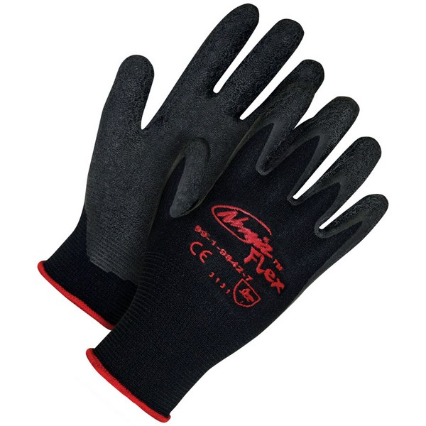 Ninja Flex Black Nylon Black Crinkle Latex Palm