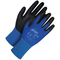 Ninja Lite Blue Fine Knit Nylon Grey Polyurethane Palm