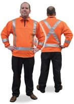 Fire Retardant Pullover with striping