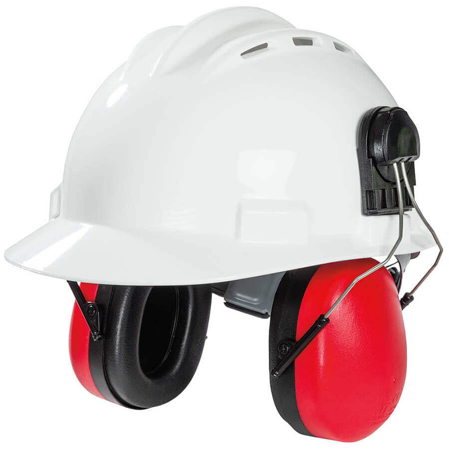 Hard Hat Cap Mounted Ear Muffs
