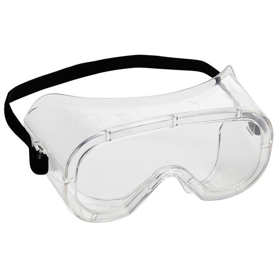 Clear Safety Goggle With Clear Lens