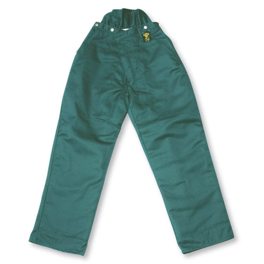 green chainsaw faller pants