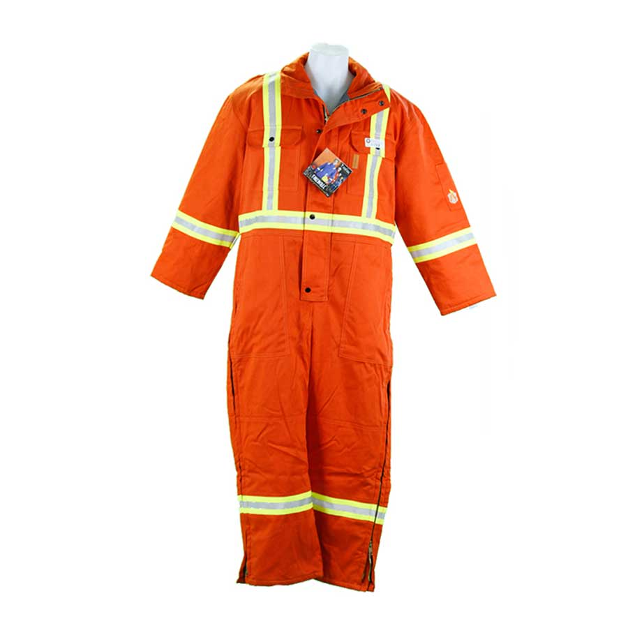 FIREWALL FR Hi-Viz Orange Coveralls