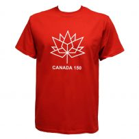 canada 150 red t-shirt