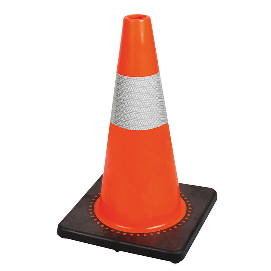 hi-viz traffic safety cone