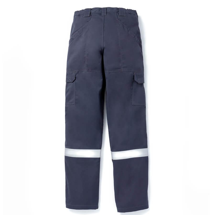 back view navy fr pants