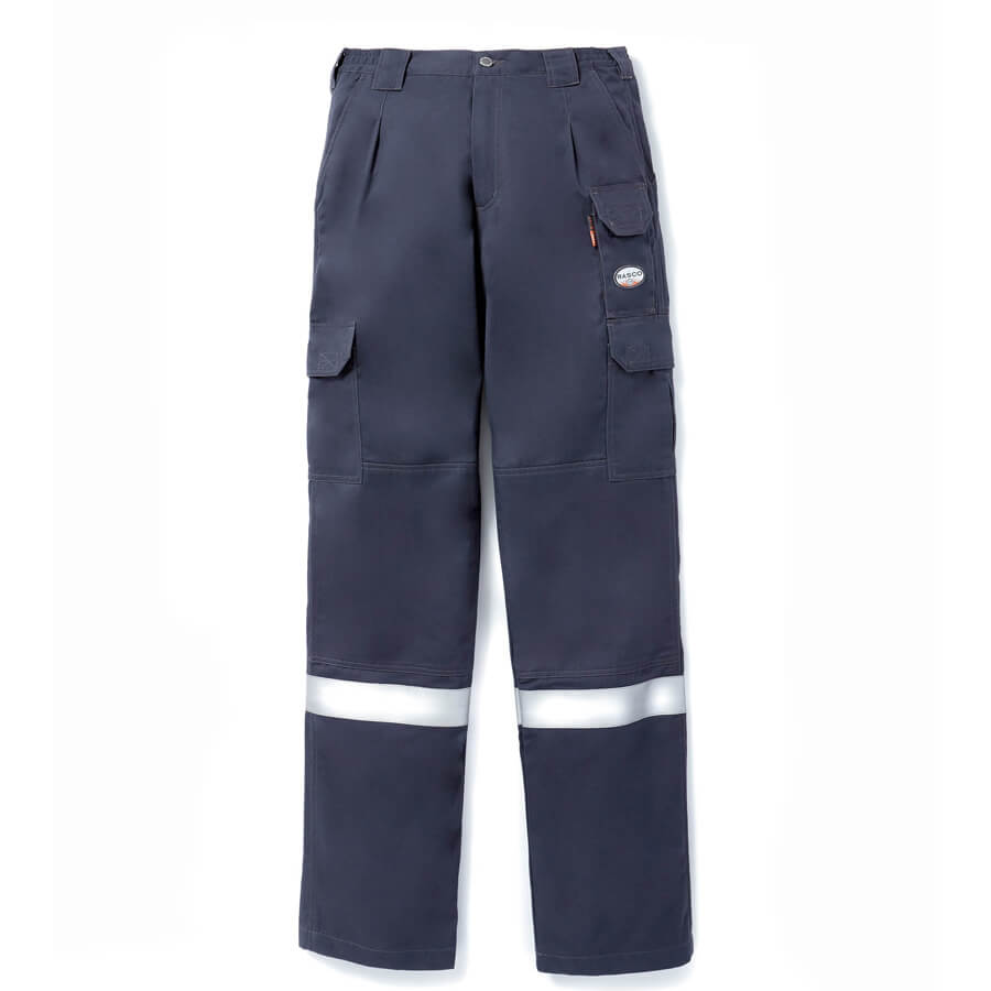 front view navy fr pants