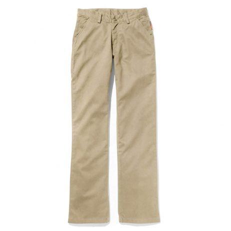 khaki ladies fr flame resistant women's pants