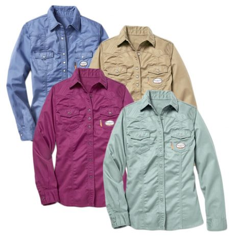 women's fr work shirts