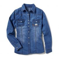 Women's Denim FR Long-Sleeve Shirt