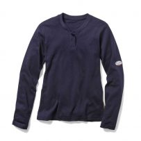 womens henley shirt fr fire retardant