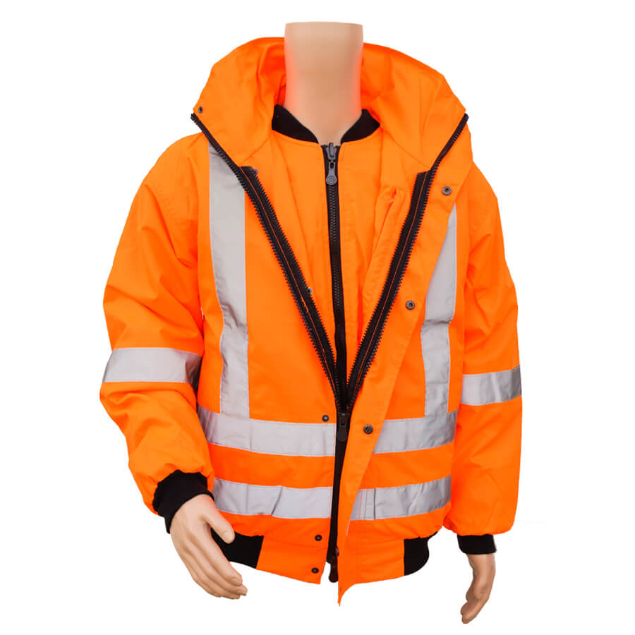 5-in-1 hi-viz winter jacket