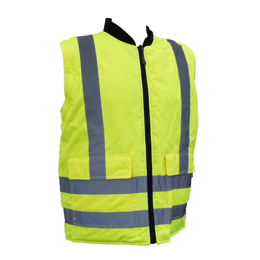 hi-viz lime reversible 5-in-1 vest jacket