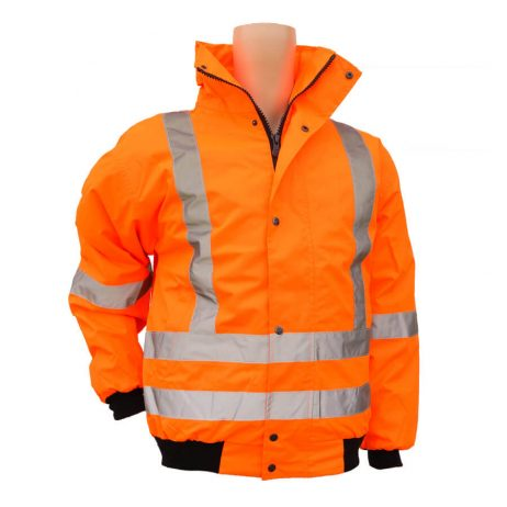 5-in-1 reversible hi-viz jacket