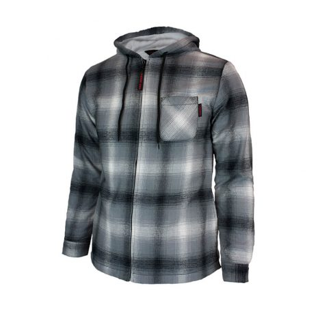 ladies grey flannel jacket