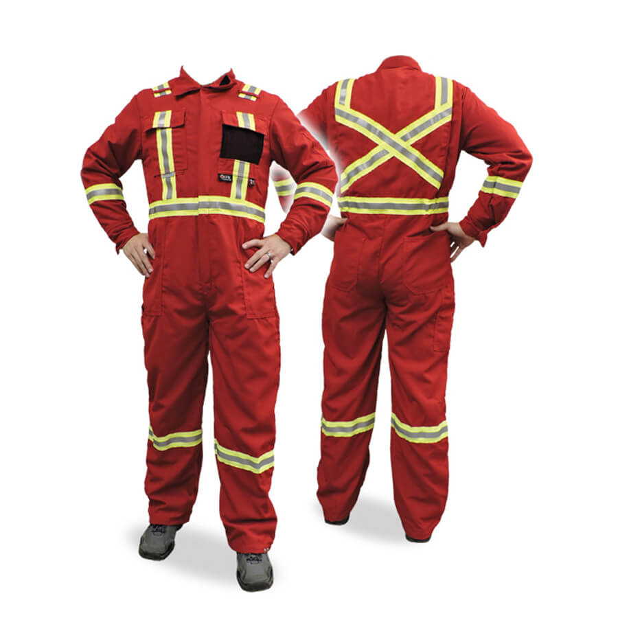 red nomex coveralls