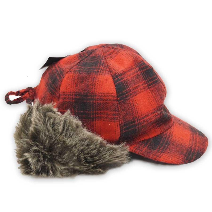 Women's Faux Fur Hat with cap