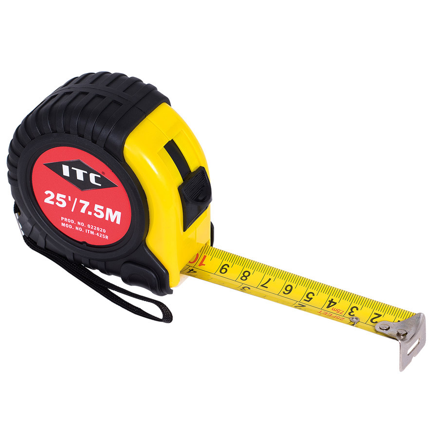 "1"" x 25' S.A.E. / Metric Tape Measure"