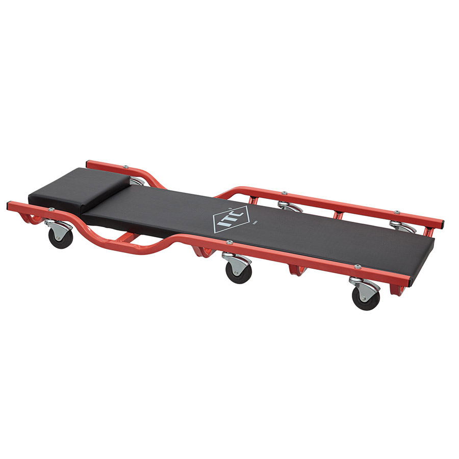 "40"" Drop Shoulder Metal Frame 6 Wheel Creeper"