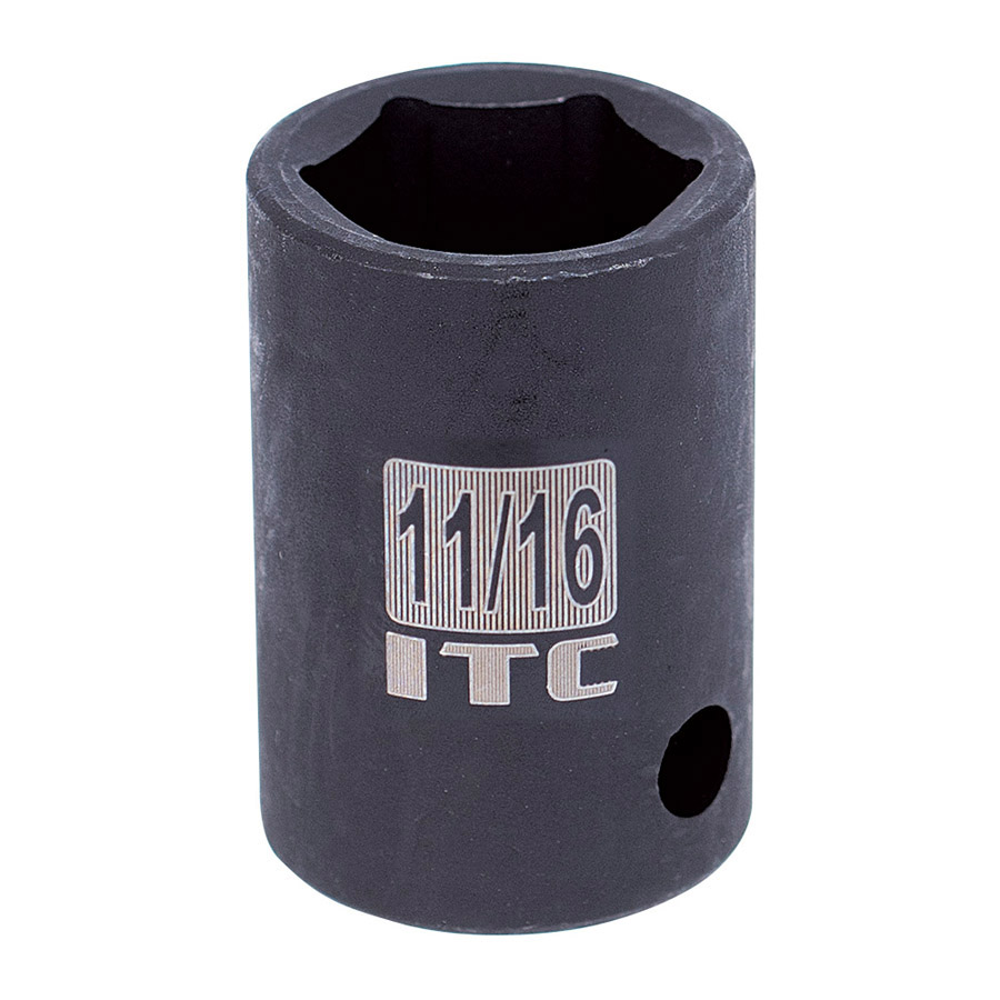 "1/2"" Dr x 11/16"" Impact Socket - 6 Point"