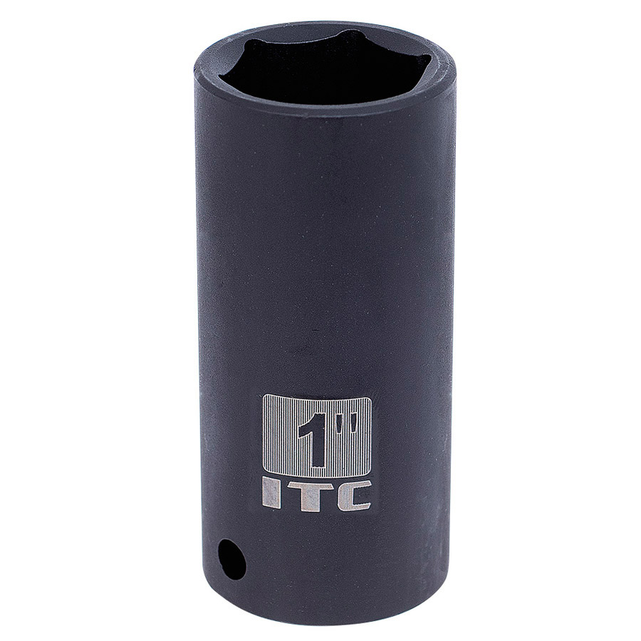 "1/2"" Dr x 1"" Deep Impact Socket - 6 Point"