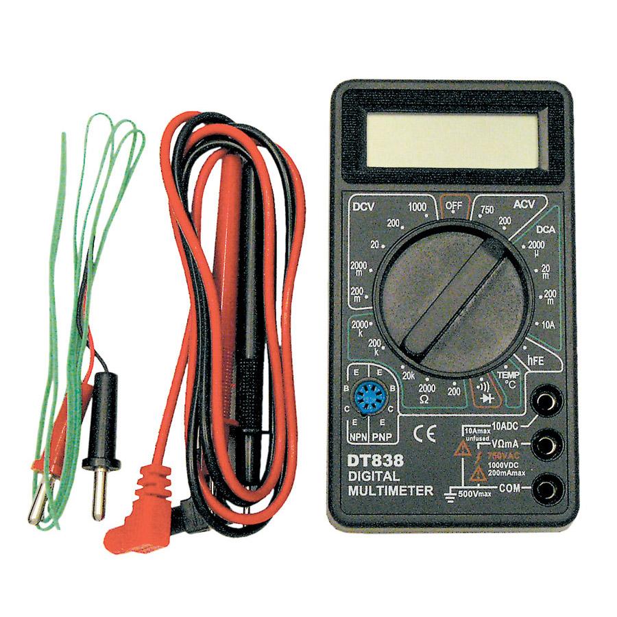 3-1/2 Digit Digital LCD Multimeter