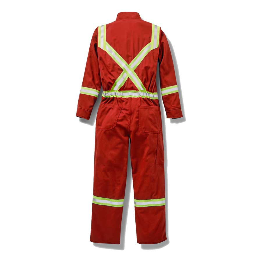 Rasco Flame Resistant Hi Viz Premium Coveralls Direct