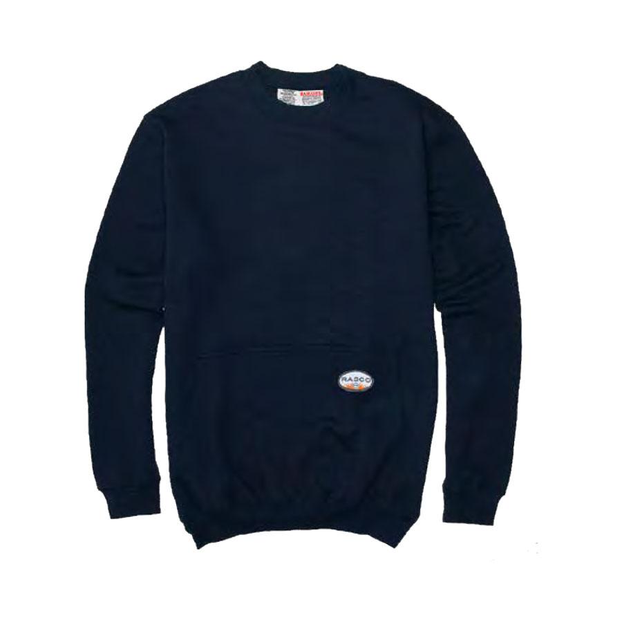 Navy Flame Resistant Sweatshirt