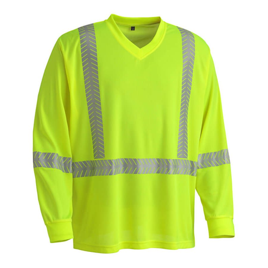 ultra-cool, ultra-breathable long-sleeved shirt yellow
