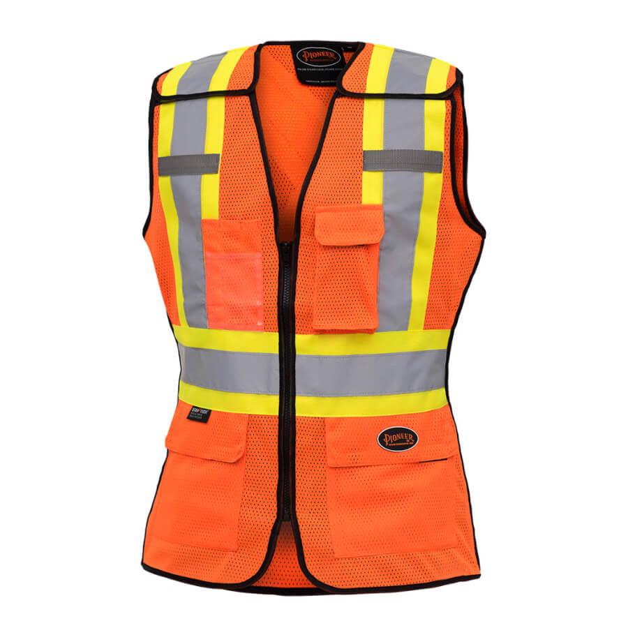 Women S Hi Viz Safety Tear Away Vest Direct Workwear