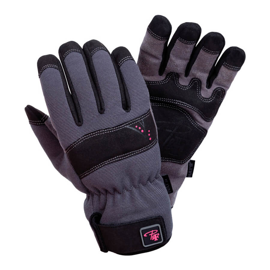 grey ladies work gloves