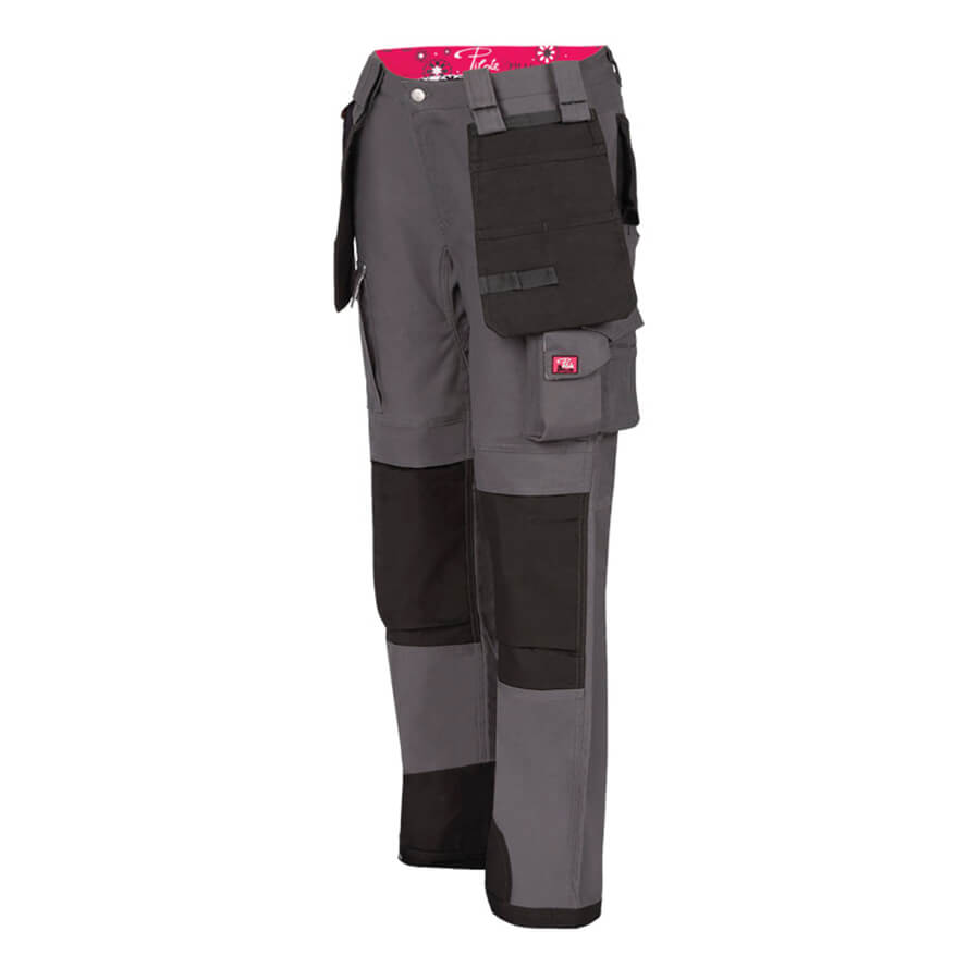 ladies multi-pocket work pant