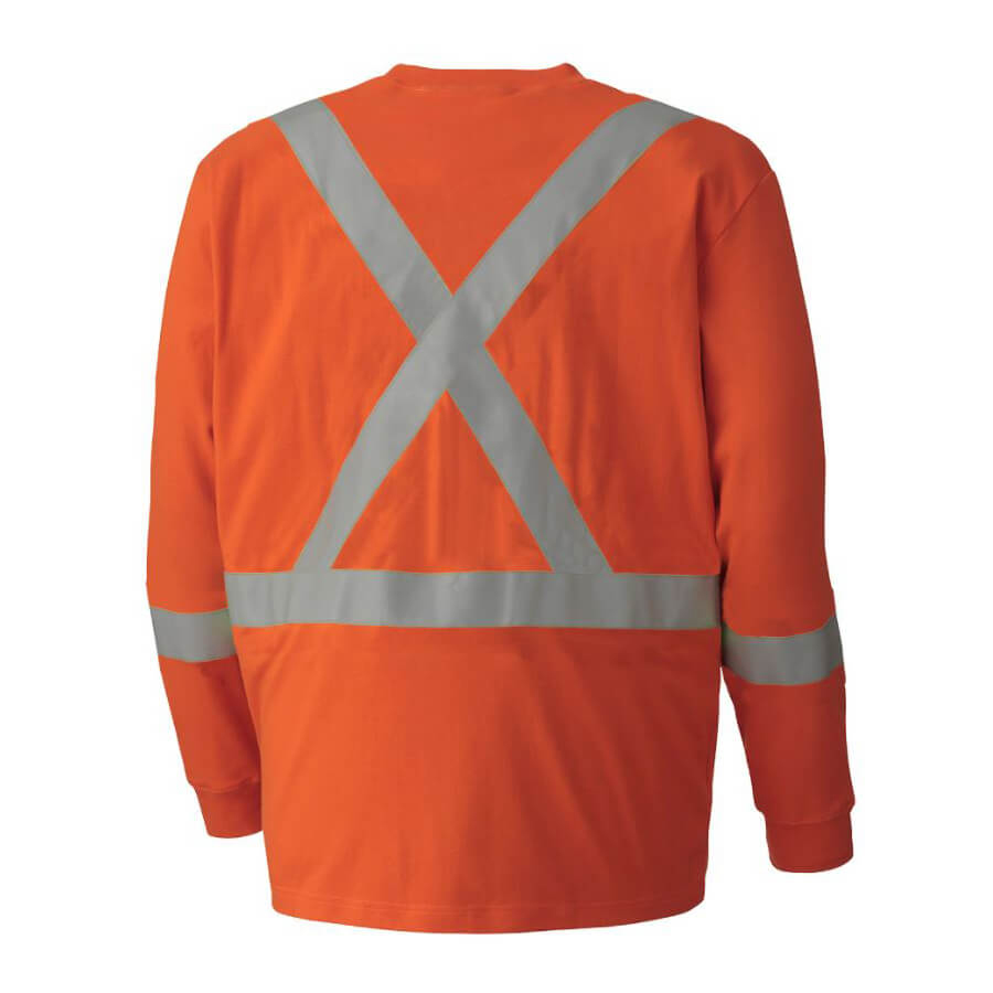 Flame Resistant Long Sleeved Cotton Safety Shirt Direct