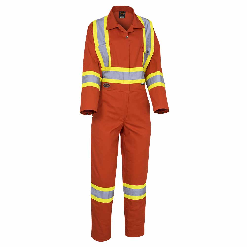 7dec636f4bb Women s Safety Poly Cotton Coverall - Direct Workwear