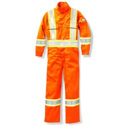 hi viz orange coverall