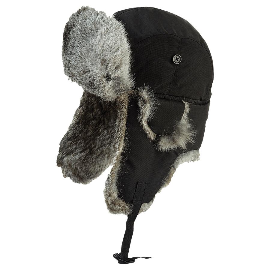 bde426d1781588 Tough Duck Aviator Hat with Rabbit Fur - Direct Workwear