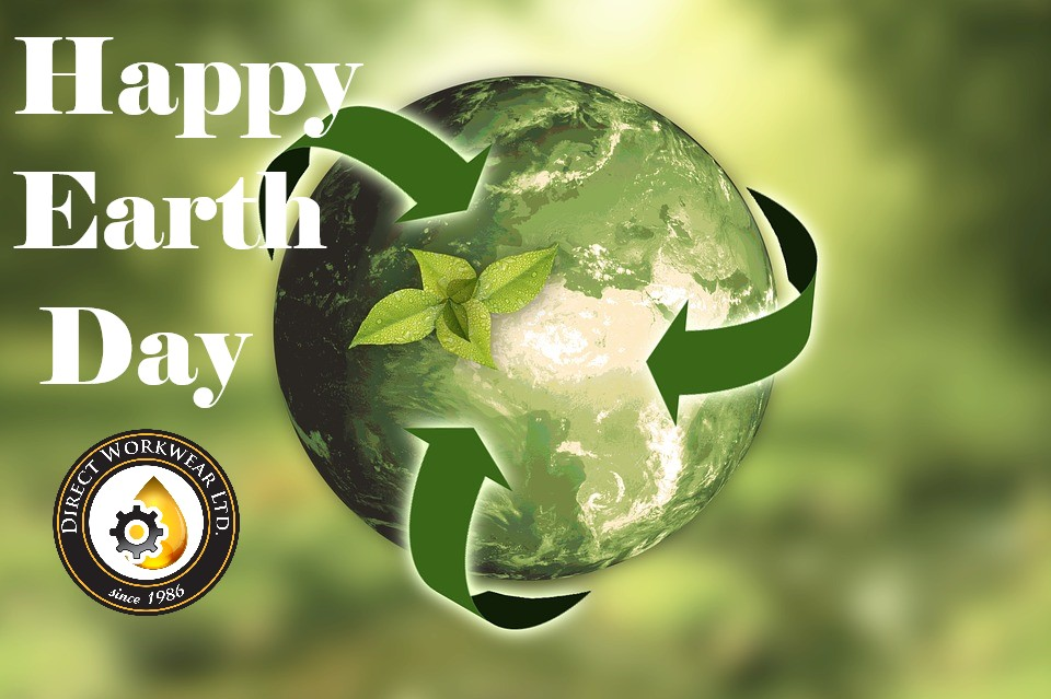 Happy earth day from direct workwear ltd