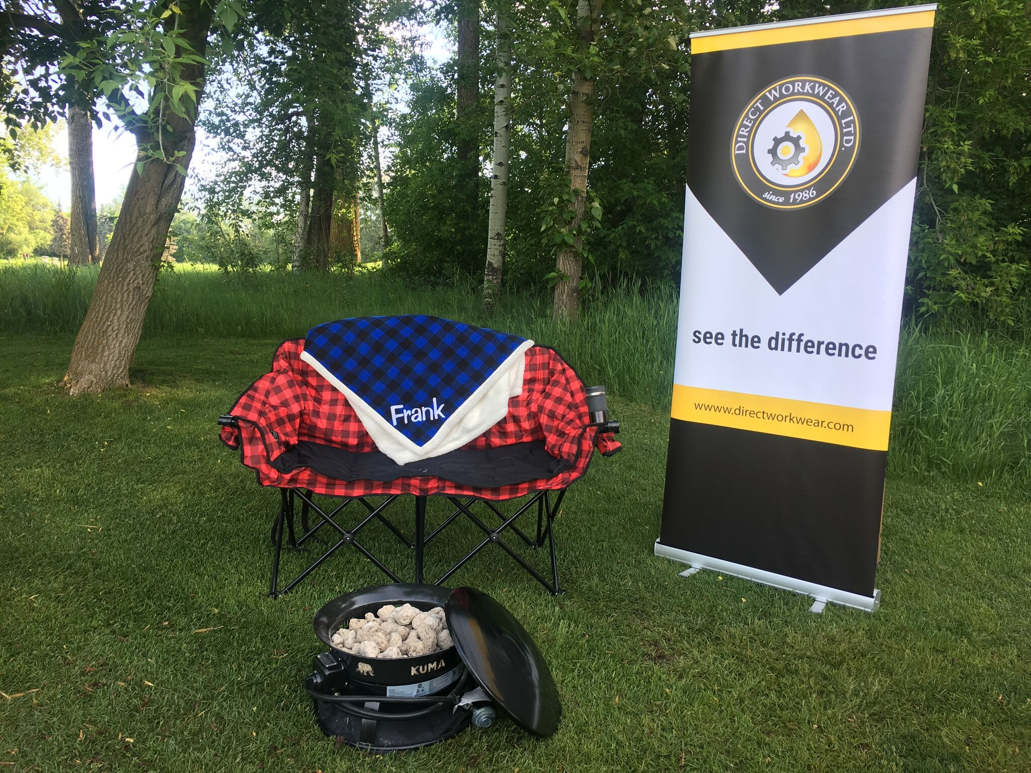Direct Workwear Attends the tsn 1260 golf tournament